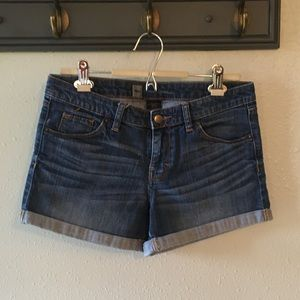 Mossimo Denim Shorts with Rolled Hem